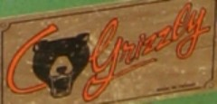 Old Grizzly Logo on G1066