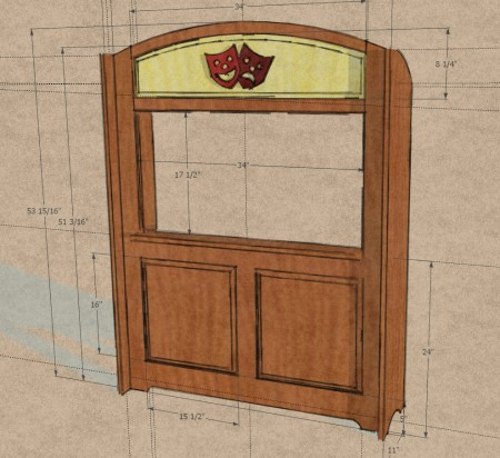 Puppet Theater Design in SketchUp