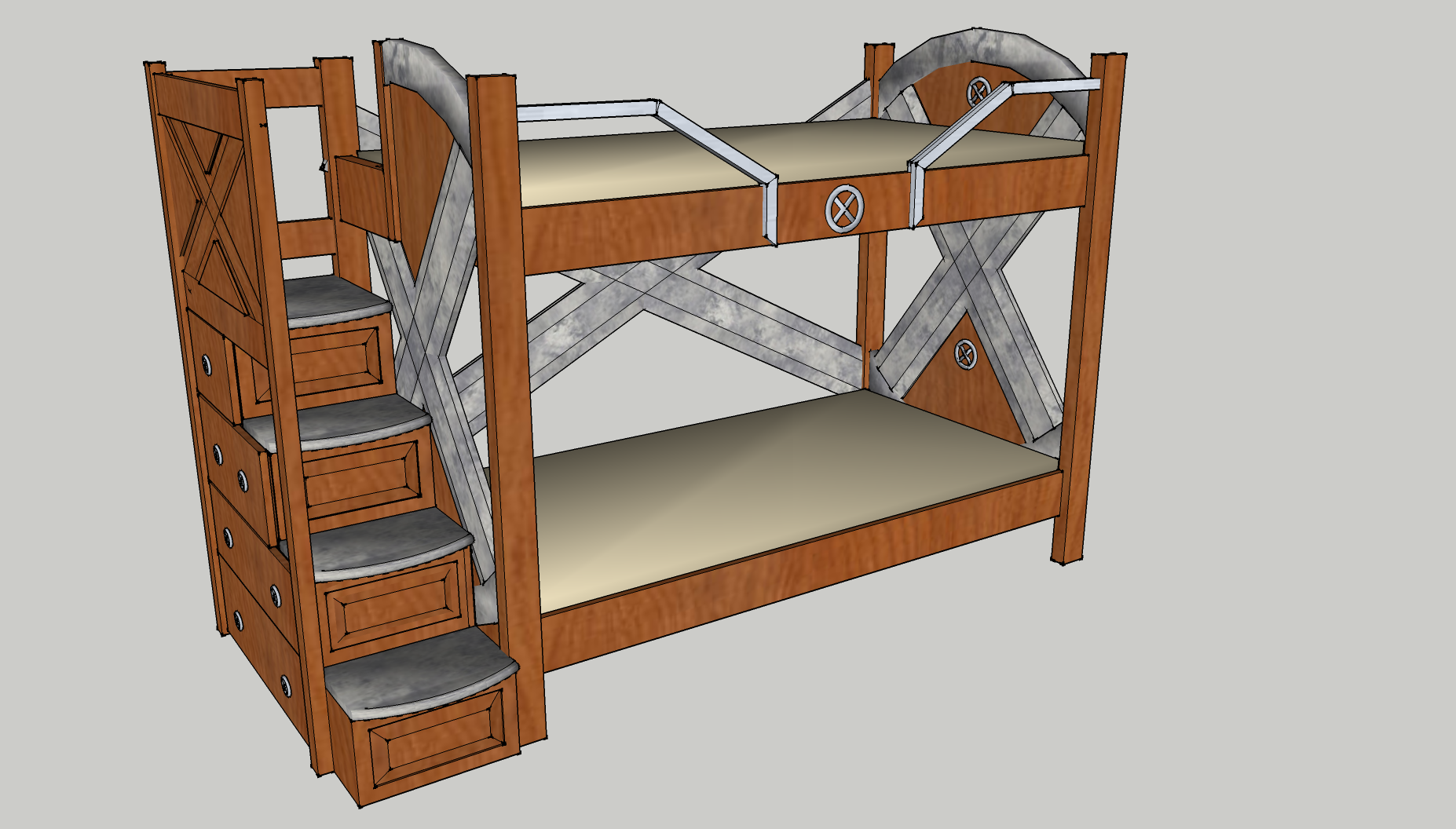 X Men Bunk Bed 1 A Bunk Bed For My Superheroes By