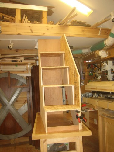 Woodworking plans building a loft bed with stairs PDF Free Download