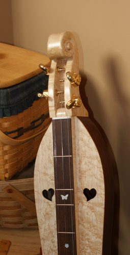 the completed dulcimer